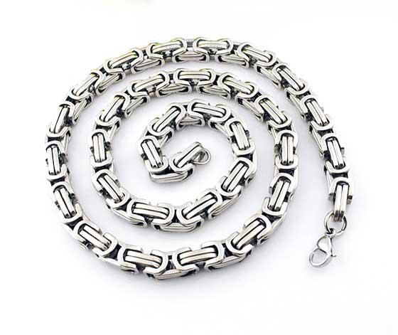 Cadenas de collar de esclavitud de acero